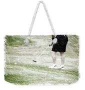 Golfing Putting The Ball 01 Pa Weekender Tote Bag