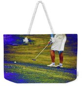 Golfing Putting The Ball 02 Pa Weekender Tote Bag
