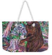 Goliath - The Bigfoot Of Ash Swamp Road Weekender Tote Bag