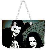 Gomez And Morticia Addams Weekender Tote Bag