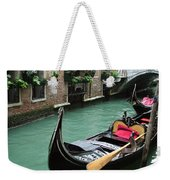 Gondola By The Restaurant Weekender Tote Bag