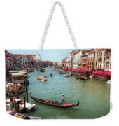 Gondola On The Grand Canal Weekender Tote Bag