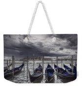 Gondolas In Front Of San Giorgio Island Weekender Tote Bag
