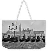 Gondolas Of San Marco Square Weekender Tote Bag