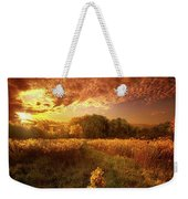 Gone Far Away Into The Silent Land Weekender Tote Bag