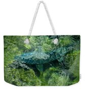 Gone Fishin Weekender Tote Bag