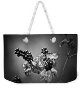 Gone To Seed Blackberry Lily Weekender Tote Bag
