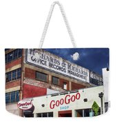 Goo Goo Shop Weekender Tote Bag