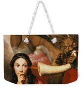 Good And Evil Weekender Tote Bag