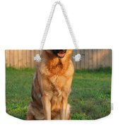 Good Boy Weekender Tote Bag