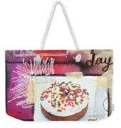Good Day Donut- Art By Linda Woods Weekender Tote Bag