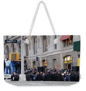 Good Friday On Trinity Place Weekender Tote Bag by Rob Hans