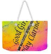 Good Girls Play Clarinet 5028.02 Weekender Tote Bag
