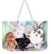 Good Hare Day Weekender Tote Bag