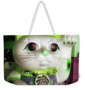 Good Meowning. I Feel So Lucky Today Weekender Tote Bag