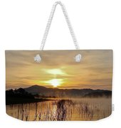 Good Morning   God Weekender Tote Bag
