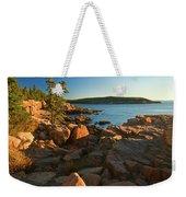 Good Morning Acadia Weekender Tote Bag