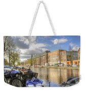 Good Morning Amsterdam Weekender Tote Bag