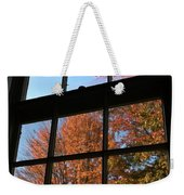 Good Morning Autumn Weekender Tote Bag