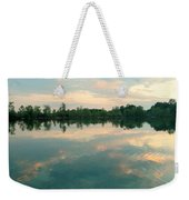 Good Morning Bird Weekender Tote Bag