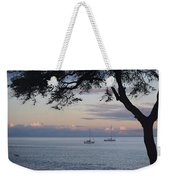 Good Morning Boats Weekender Tote Bag