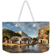 Good Morning Charleston Weekender Tote Bag