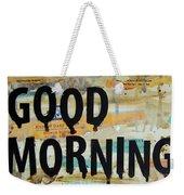 Good Morning Coffee Collage 9x12 Weekender Tote Bag