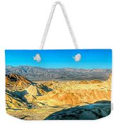 Good Morning From Zabriskie Point Weekender Tote Bag