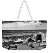Good Morning In Black And White Weekender Tote Bag