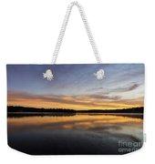 Good Morning Lake Springfield Weekender Tote Bag