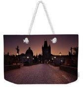 Good Morning Prague  Weekender Tote Bag