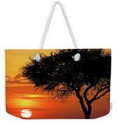 Good Night, Maasai Mara Weekender Tote Bag
