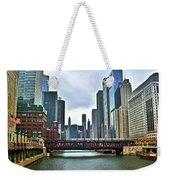 Good Old Chicago Weekender Tote Bag