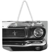 Good Vibrations - Black And White Weekender Tote Bag