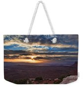 The Long Wave Goodbye Weekender Tote Bag
