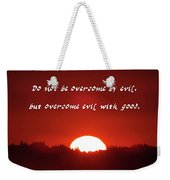 Goodness Romans Weekender Tote Bag