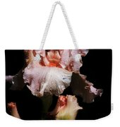 Goodnight Kiss Iris  Weekender Tote Bag