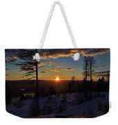 Goodnight Montana Weekender Tote Bag