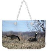 Goose And Gander Weekender Tote Bag