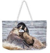 Goose Epic Battle Weekender Tote Bag