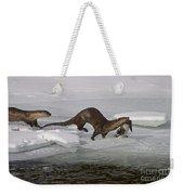 Goose For Lunch-signed-#1133 Weekender Tote Bag