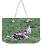 Goose Lookout Weekender Tote Bag