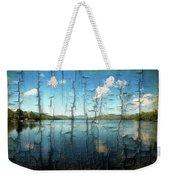 Goose Pond Reflection Weekender Tote Bag