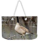 Goose Posing Weekender Tote Bag