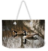 Goose Reflection Weekender Tote Bag