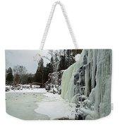 Gooseberry Frozen Falls Weekender Tote Bag