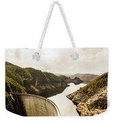 Gordon Dam Tasmania  Weekender Tote Bag