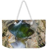 Gorge Trail In Autumn Watkins Glen Weekender Tote Bag