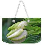 Best Buds Gorgeous Gardenia Flower Buds Weekender Tote Bag