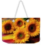 Gorgeous Lovely Sunflowers Weekender Tote Bag